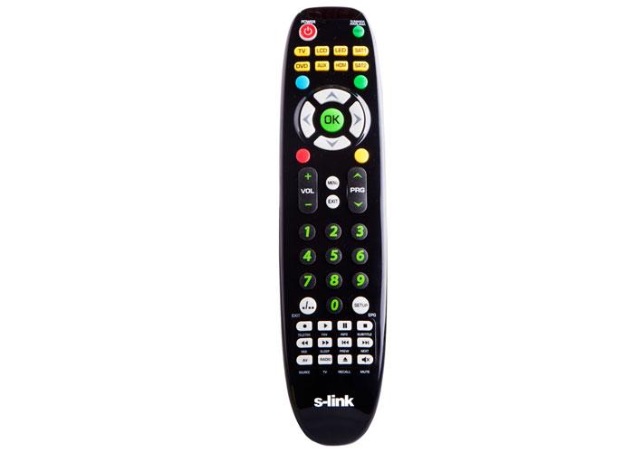 S-link SL-DVDK18 Universal Smart 8 in 1 TV + DVD + SATA + Aux remote control