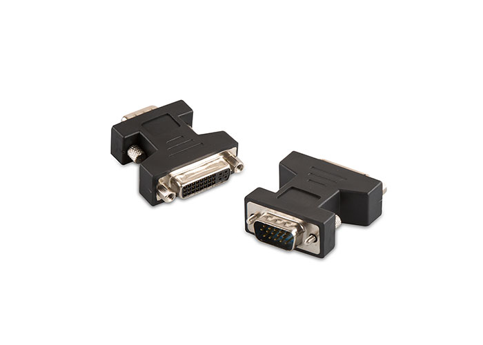S-link SL-DVI22 to DVI 24 + 5M TO VGA to 15M Converter Adapter