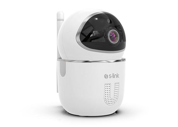 S-Link Swapp SL-EG15 1.0MP HD CMOS Sensör 720P Akıllı Güvenlik Kamerası Wifi TUYA Destekli