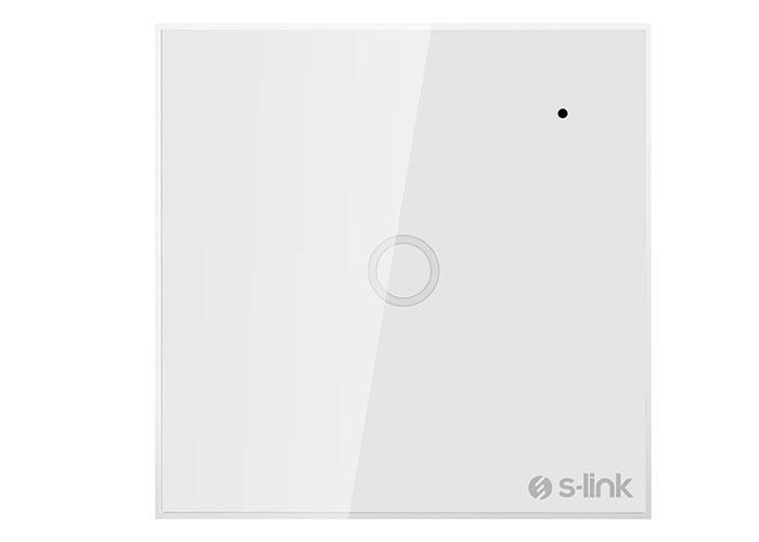 S-Link Swapp SL-EG31 Kablosuz ve Dokunmatik Aydınlatma Anahtarı 1Li Wifi TUYA Destekli