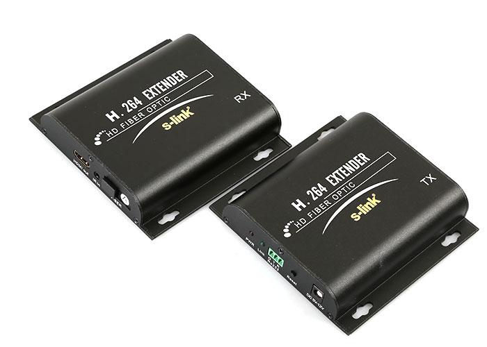 S-Link SL-HDEX2KM FIBERIC to HDMI Extender 2KM Uzatıcı
