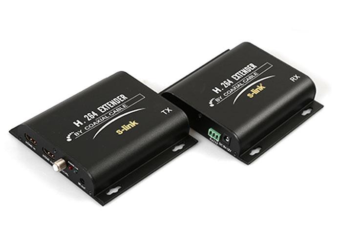 S-Link SL-HDEX700M COAXIAL to HDMI Extender 700M Uzatıcı