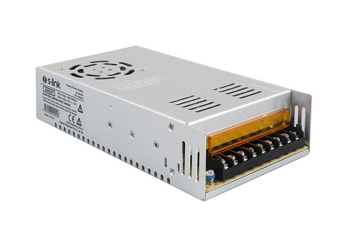 S-link SL-KA390 12V 30A 380W Metal Kamera Güç Kaynağı