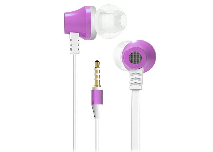 S-link SL-KU150 Mobil Telefon Uyumlu Taşıma Çantalı Kulak içi Beyaz/Pembe Mikrofonlu Kulaklık