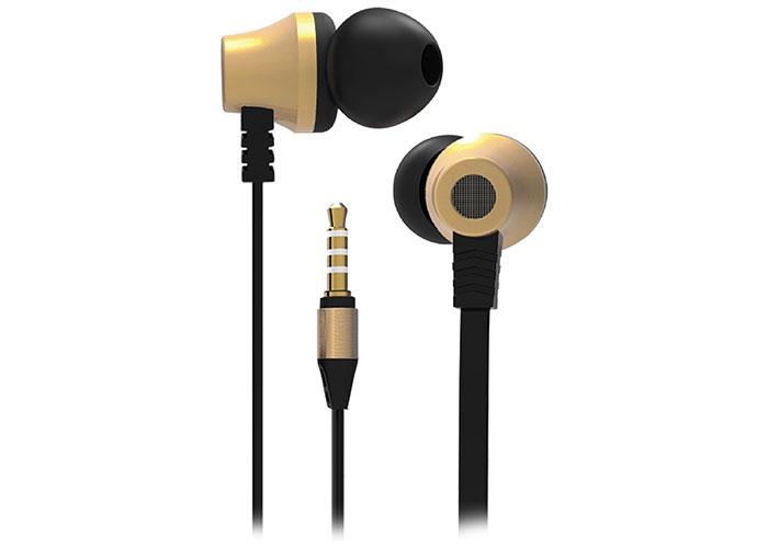 S-link SL-KU150 Mobil Telefon Uyumlu Taşıma Çantalı Kulak içi Siyah/Gold Mikrofonlu Kulaklık