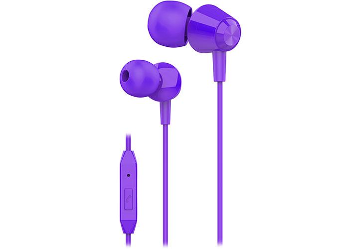 S-link SL-KU160 Mobil Telefon Uyumlu Mor Kulak İçi Mikrofonlu Kulaklık
