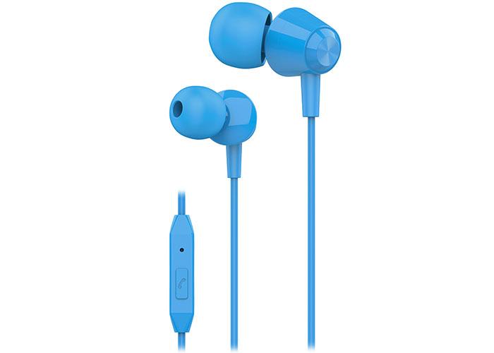 S-link SL-KU160 Mobil Telefon Uyumlu Mavi Kulak İçi Mikrofonlu Kulaklık