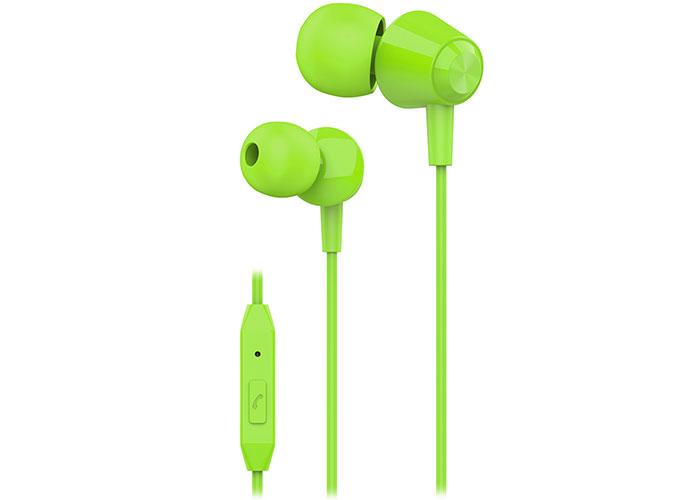 S-link SL-KU160 Mobil Telefon Uyumlu Yeşil Kulak İçi Mikrofonlu Kulaklık