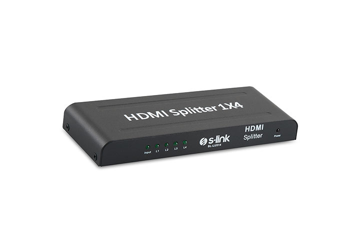 S-Link SL-LU514 4 Port HDMI Splitter