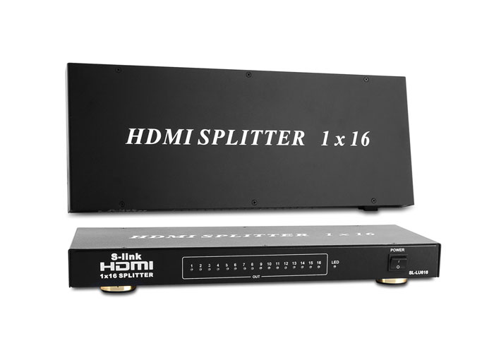 S-Link SL-LU616 16 Port HDMI Splitter