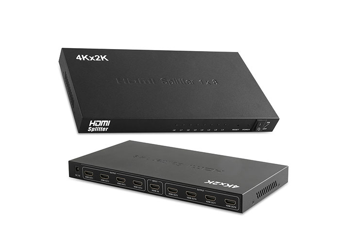 S-Link SL-LU6248 8 Port HDMI 1.4V 3D 4K*2K 30HZ Splitter