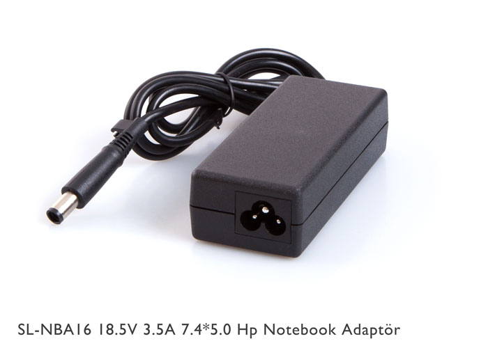 S-link SL-NBA16 18.5V 3.5A 7.4*5.0 Hp Notebook Adaptör