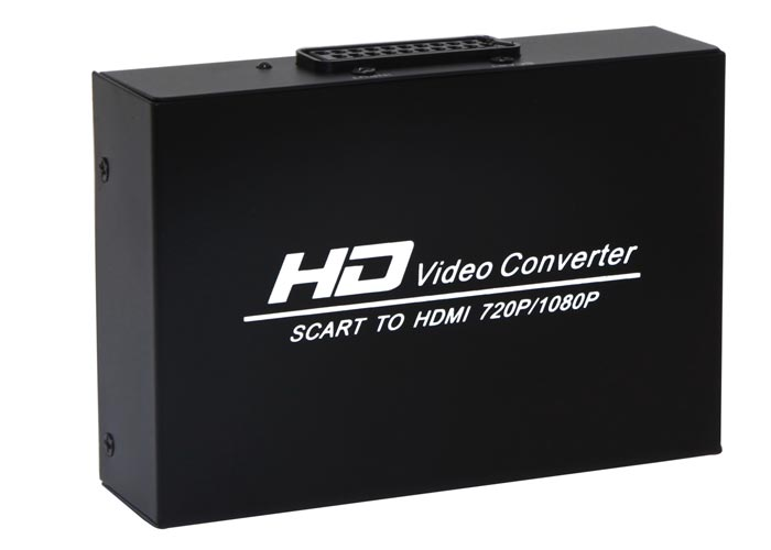 S-link SL-SH25 to SCART to HDMI Converter