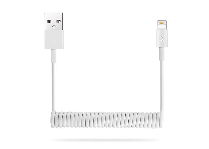 S-link SL-SP12 iPhone Lightning 1.2m 2A Spiral Data + Şarj Kablosu