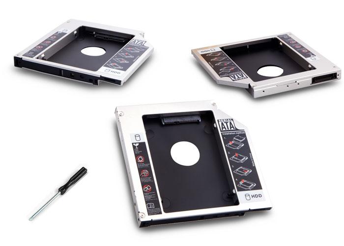 S-link SL-SSD12 IDE to SATA 12.7mm Notebook Ekstra Hdd Yuvası