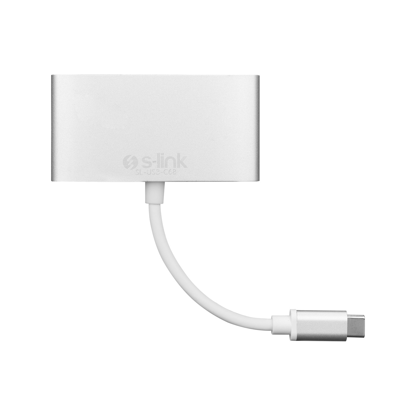S-link SL-USB-C68 Type-C to HDMI+usb3.0+pd Kablo