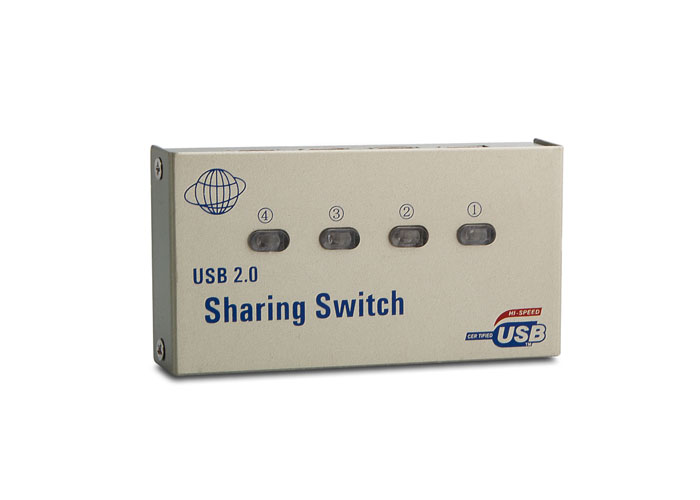 S-Link SL-USS-4 4Port USB Sharing Switch
