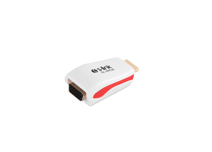 S-link SL-HVS30 HDMI to VGA Çevirici Kablo