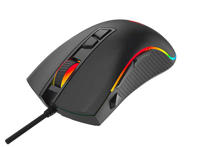 Everest SM-G06 SAGITTA Usb Siyah 800/1600/3200/4800/6400 dpi RGB Gaming Mouse