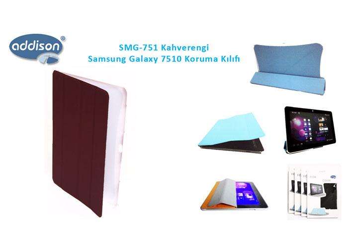 Addison SMG-751 Kahverengi Samsung Galaxy 7500 Tablet Pc Kılıfı