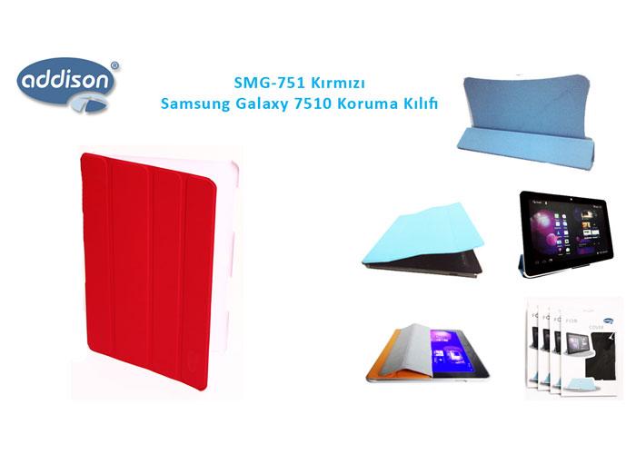 Addison SMG-751 Kırmızı Samsung Galaxy 7500 Tablet Pc Kılıfı