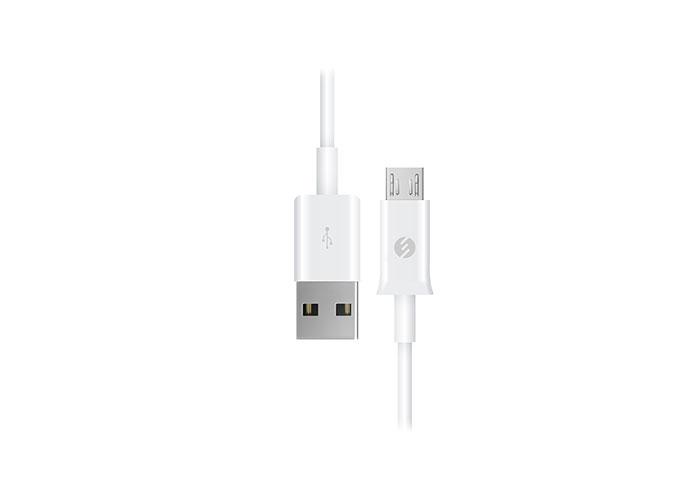 S-link SMG-140 1.3A Micro Usb Beyaz Data + Şarj Kablosu