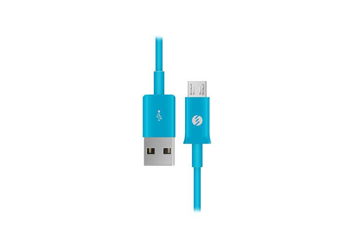 S-link SMG-140 1.3A Micro Usb Mavi Data + Şarj Kablosu
