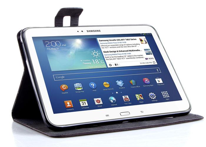 Addison SMG-TAB3-04 10.1 Koyu Gri Samsung Galaxy Tab3 Tablet Pc Kılıfı