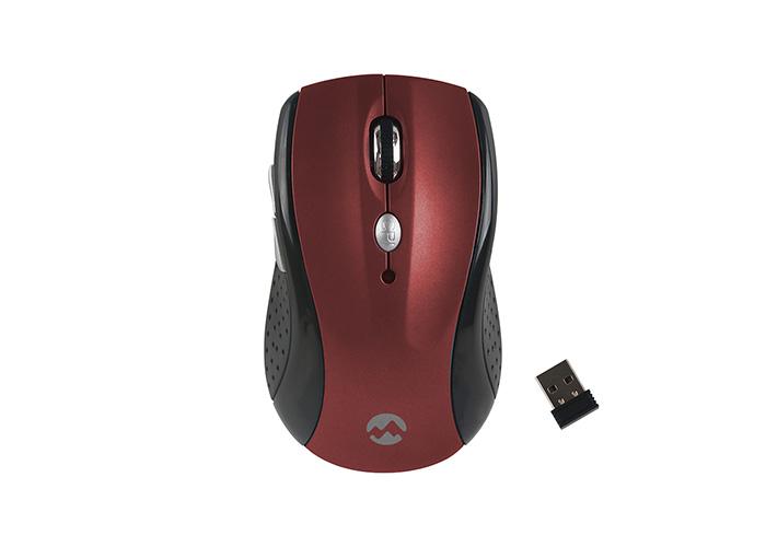 Everest SMW-266 Usb Kırmızı 2.4Ghz Optik Wireless Mouse