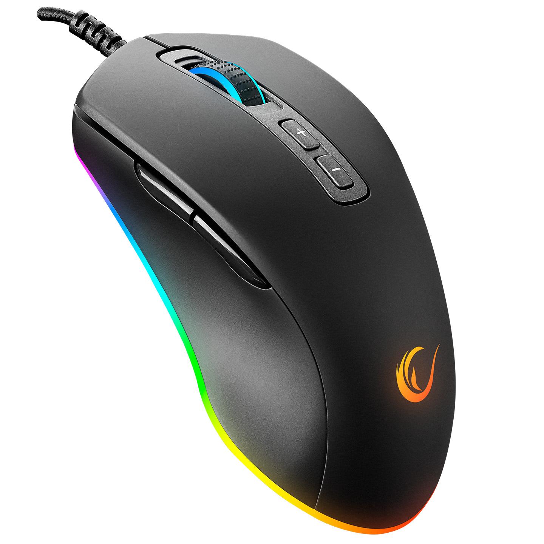 Rampage SMX-R58 EAGLE Usb Siyah 10000dpi RGB Ledli Makrolu Gaming Oyuncu Mouse