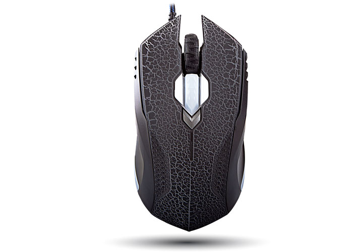 Everest SMX-308M Usb 6D Optical Gaming Mouse with Black / Purple Pattern