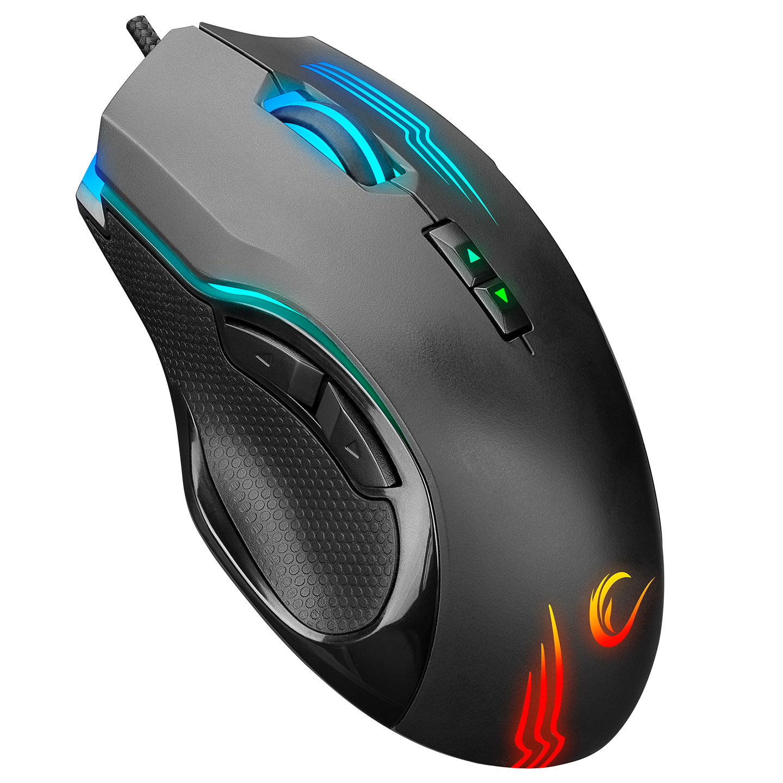Rampage SMX-G38 CLAW Usb 8 Makro Tuşlu 7200dpi RGB Ledli Gaming Oyuncu Mouse