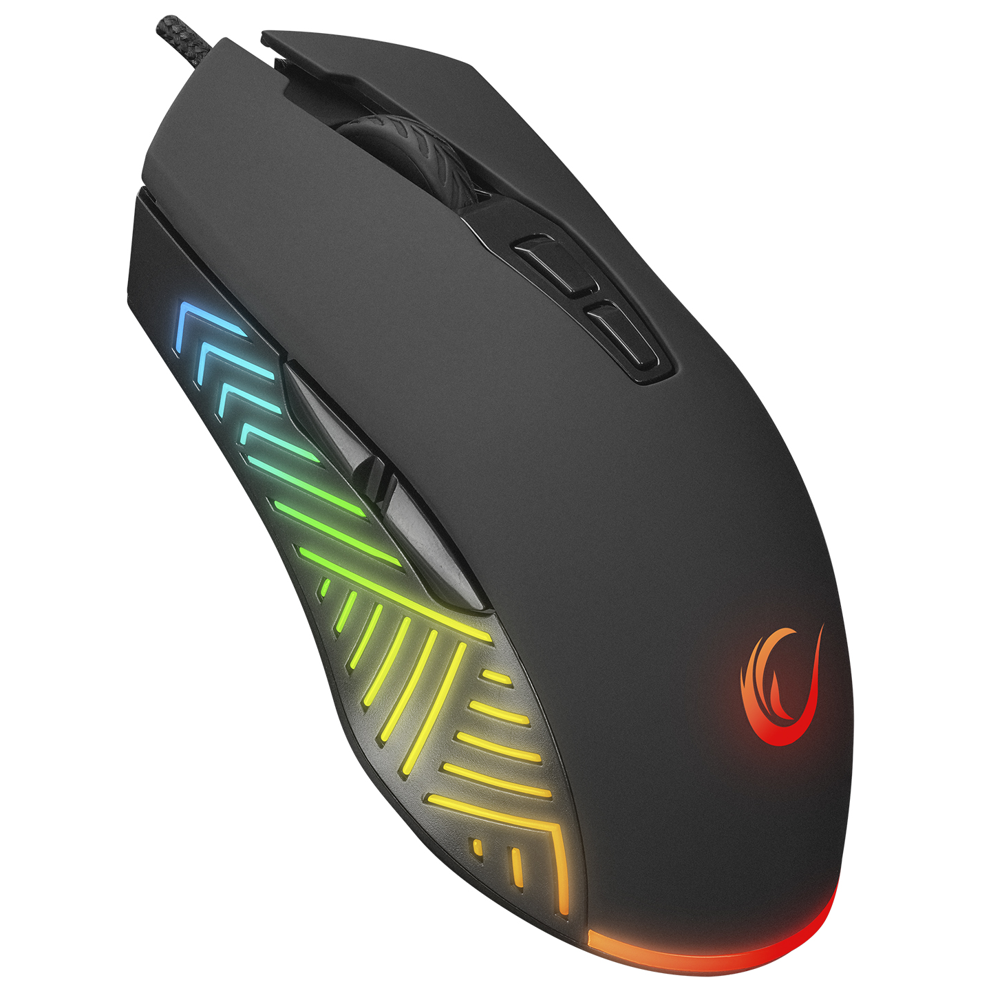 Rampage SMX-G68 SPEAR Usb Siyah 7D Optik Gaming Oyuncu Mouse