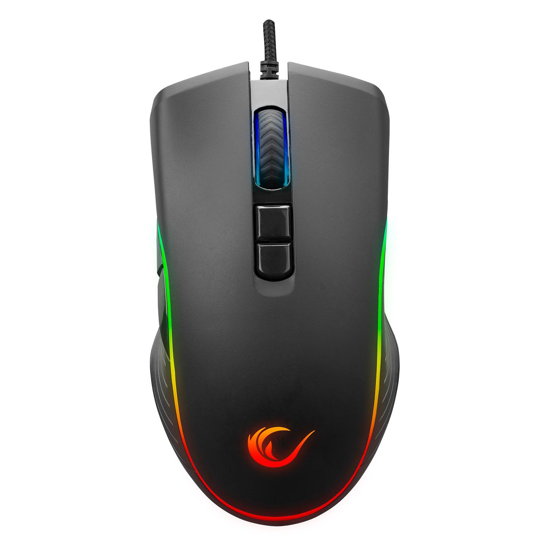 Rampage SMX-R120 SLASH 4800dpi RGB Ledli Gaming Oyuncu Mouse