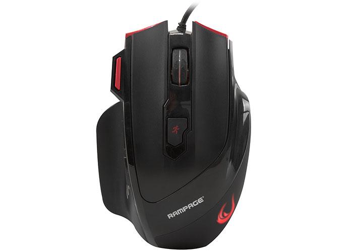 Rampage SMX-R17 X-RAPIER Siyah 7 Tuşlu 7200dpi Gaming Oyuncu Mouse