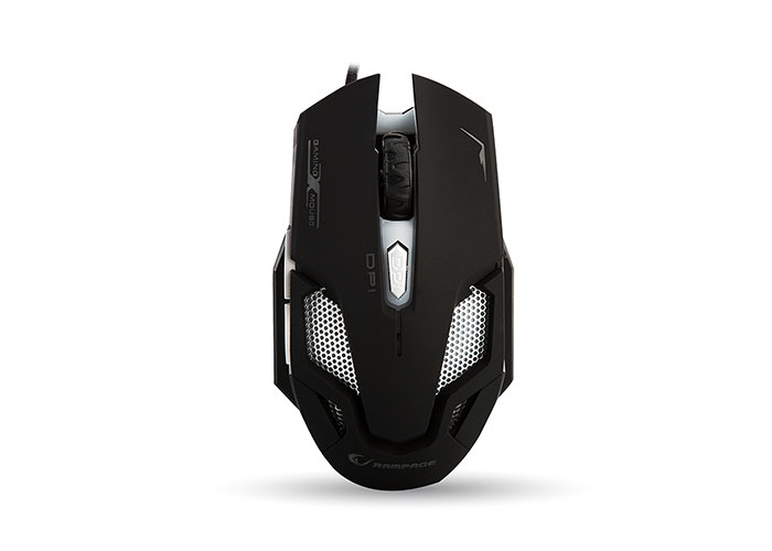 Everest Rampage SMX-R1 Usb Black 4000 Dpi 7 Different lightining Stylish Macro Gaming Mouse