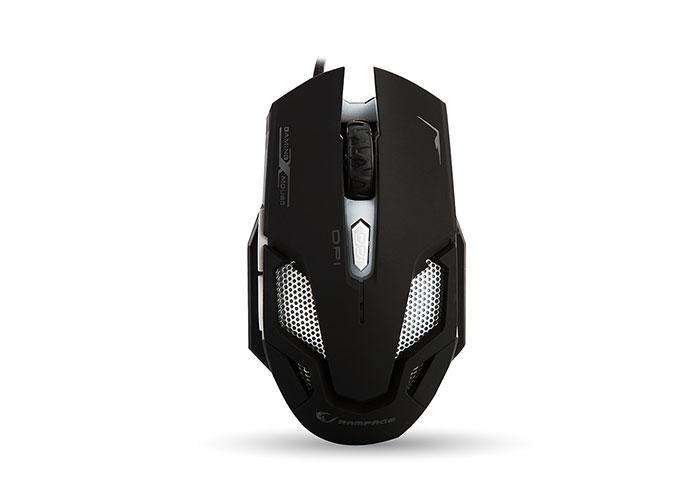 Rampage SMX-R1 Usb Siyah 4000 Dpi 7 Farklı Işık Makrolu Oyuncu Mouse