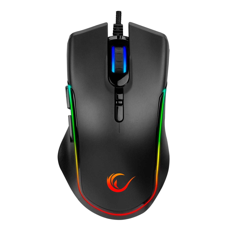 Rampage SMX-R27 VOYAGER Usb RGB Işıklı Makrolu 1200/2400/4800/7200dpi Gaming Oyuncu Mouse