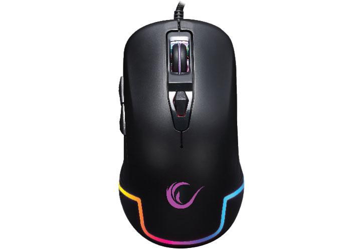 Rampage SMX-R40 HAIDIE Siyah 3200 DPI RGB Makrolu Gaming Mouse