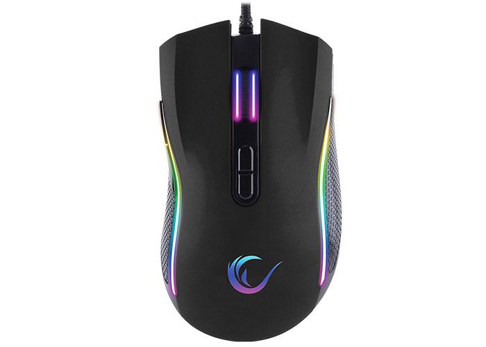 Rampage SMX-R44 Makrolu Siyah 6400dpi RGB Ledli Gaming Oyuncu Mouse