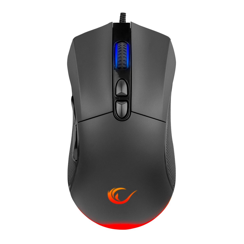 Rampage SMX-R65 TRIUMPH Usb Siyah RGB Işıklı 12400dpi Gaming Oyuncu Mouse
