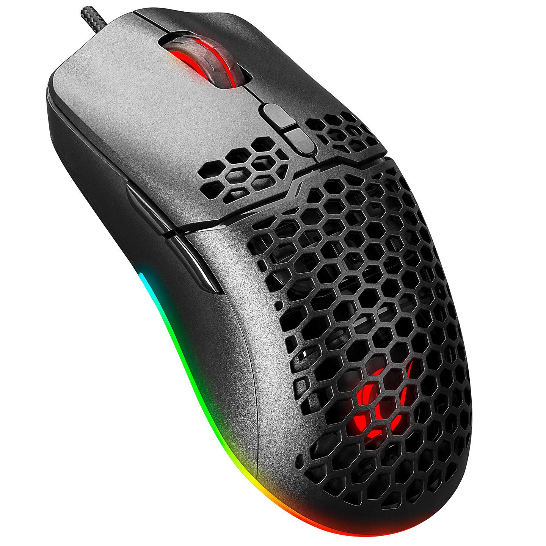 Rampage SMX-R77 X-TITAN Usb Siyah Makrolu Gaming Mouse