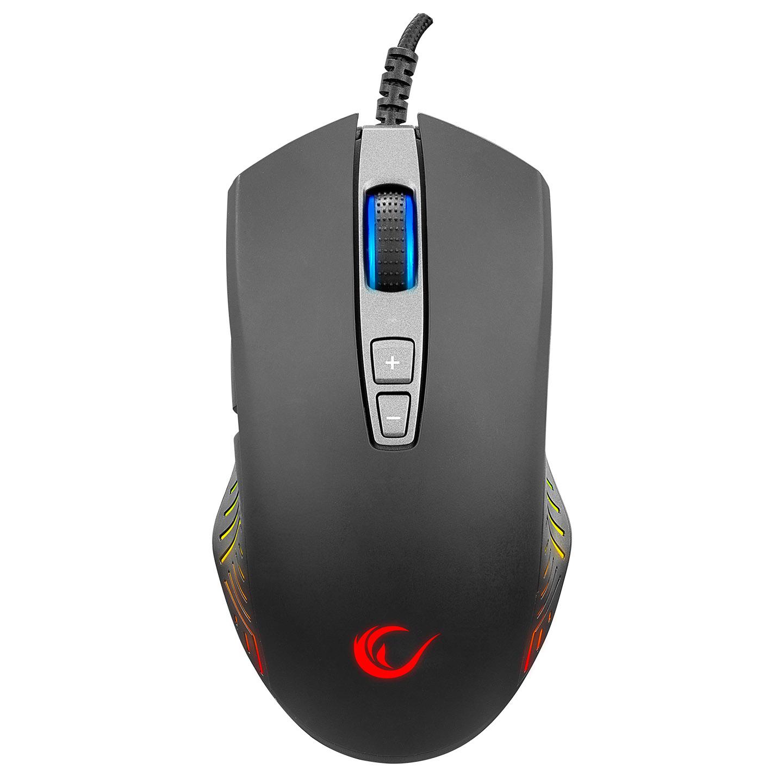 Rampage SMX-R78 SHARPER FULL RGB 12400DPI Makrolu Profesyonel E-SPOR Gaming Oyuncu Mouse