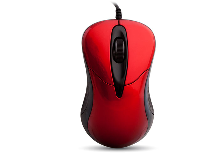 Everest SM-115 Usb Kırmızı Optik Mouse