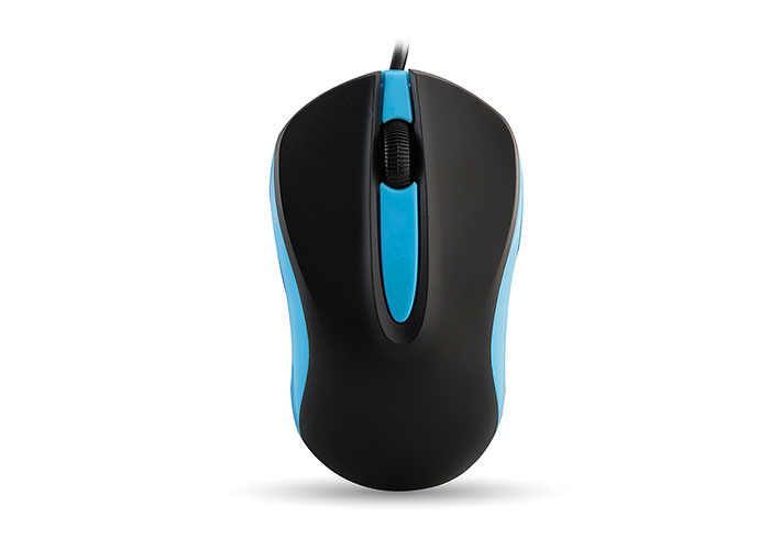 Everest SM-246 Usb Black /Light Blue Mouse