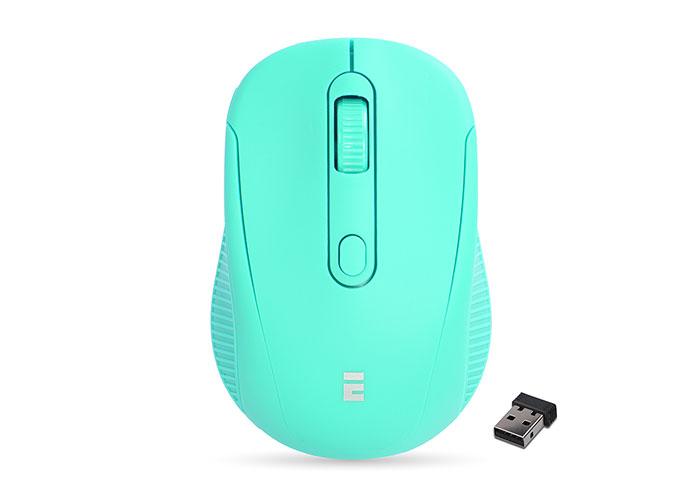 Everest SM-300 Usb Yeşil 4D Optik Alkalin Pil Kablosuz Mouse
