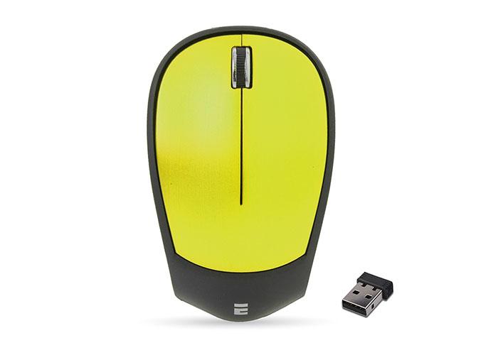 Everest SM-340 Usb Yeşil 3D Optik Süper Sessiz Alkalin Pilli Kablosuz Mouse