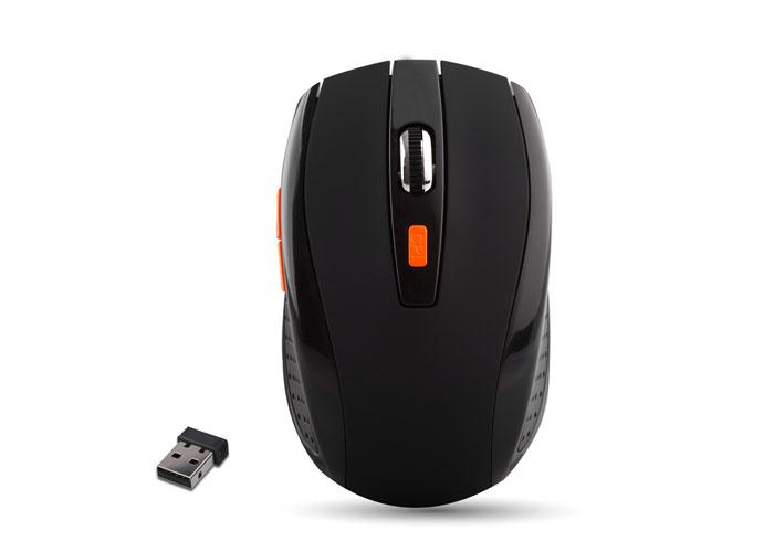 Everest SM-442 Usb Black 2.4Ghz 1200 Dpi Wireless Mouse