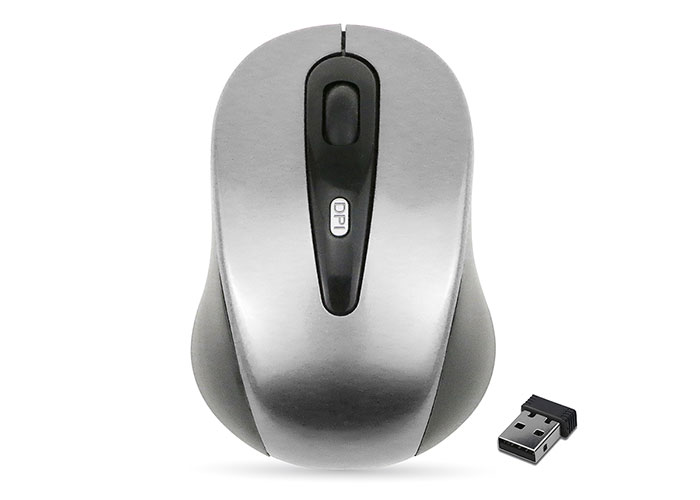 Everest SM-500 Usb Gümüş 2.4Ghz Optik Kablosuz Mouse