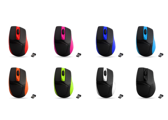 Everest SM-588 8 Color 2.4Ghz Wireless Mouse